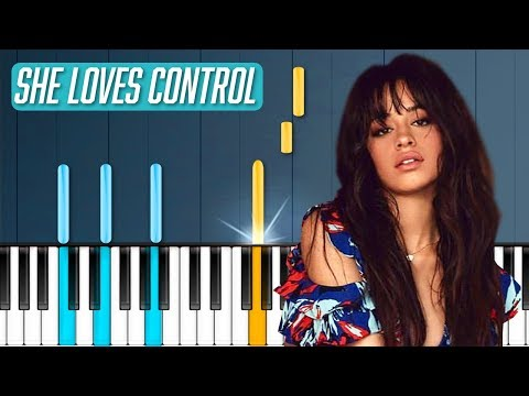 "Camila Cabello - ""She Loves Control"" Piano Tutorial - Chords - How To Play - Cover"