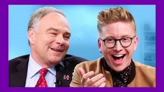 Internet Slang with VP Nominee Tim Kaine | The Tyler Oakley Show