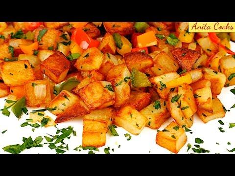 Crispy Potato Hash Recipe