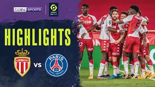 Monaco 3-2 PSG | Ligue 1 20/21 Match Highlights