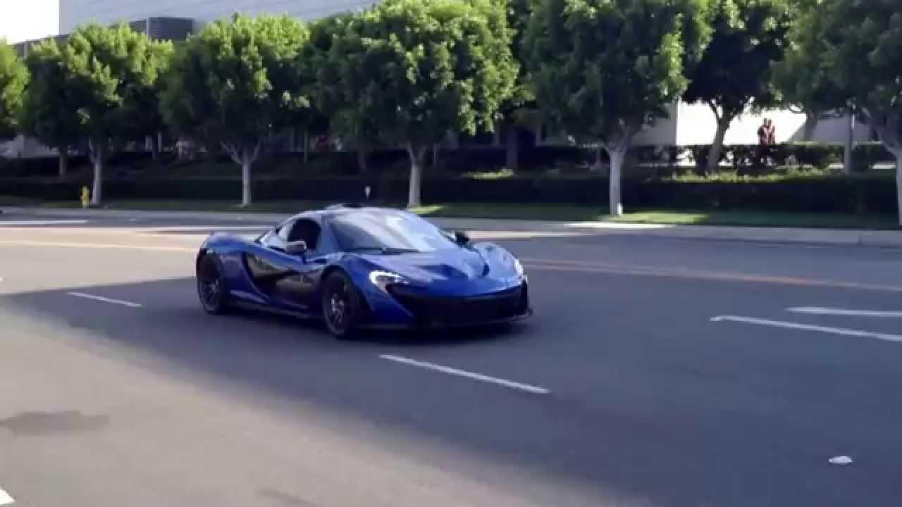 mclaren p1 azure blue. azure blue mclaren p1 leaving cars u0026 coffee irvine quick drive by mclaren