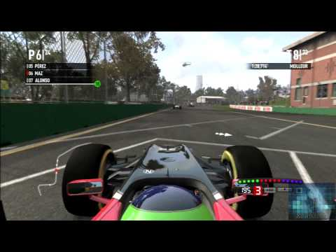 Season F1 2011 Race 1 Australia Legend
