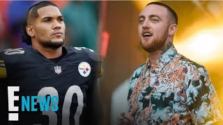 Steelers' James Conner Pays Tribute to Mac Miller at Game | E! News