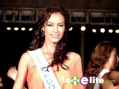 Desfile Candidatas Señorita Colombia 2011 - Casino Rio Cartagena