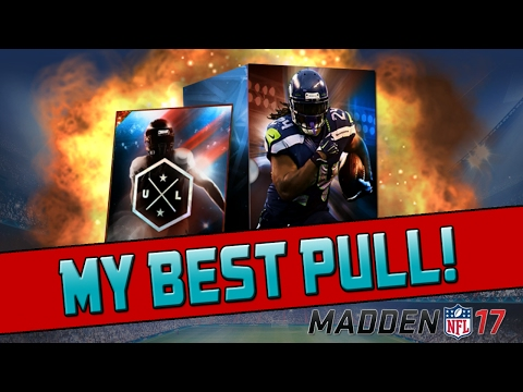 My Best Pull of MUT 17! | Madden 17 Ultimate Team - Ultimate Legends Bundle Opening