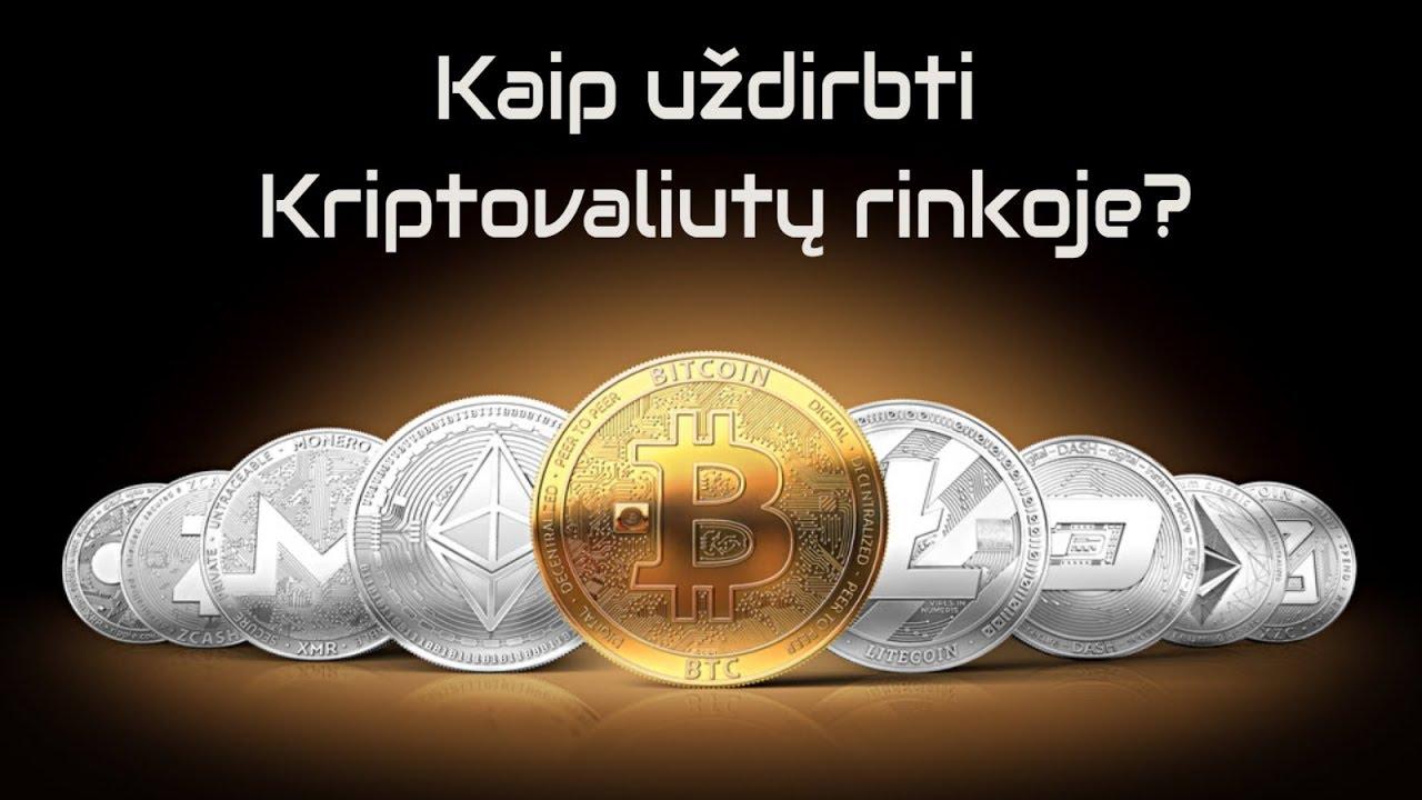 investuoti kriptovaliutų
