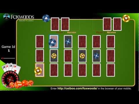 Ceiboo Games :: Foxwoods Casino Demo :: Html5/canvas, node