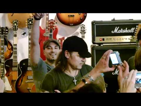 Matthias Jabs & True Calling @ MJ Guitars