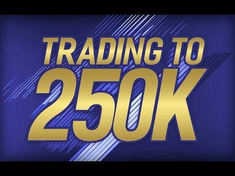 TRADING FROM 100-250K #3 - CRAZY BID WIN! (FIFA 18 Trading Series)