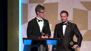 daniel clark and wesley tippetts animation gold medal 2014 student academy awards