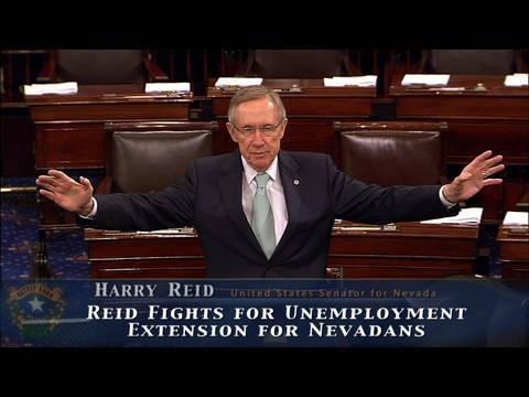 Reid Fights for Unemployment Extension for Nevadans