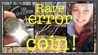 Metal detecting finds rare mint error coin! MX7, MX Sport
