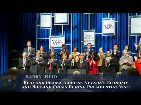 Reid and Obama Address Nevada's Economy and Housing Crisis During Presidential Visit