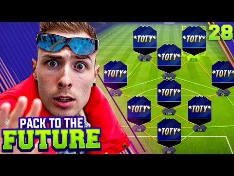 MY TOTY VOTE!!! 🔵 PACK TO THE FUTURE EPISODE 28!!! FIFA 18 Ultimate Team