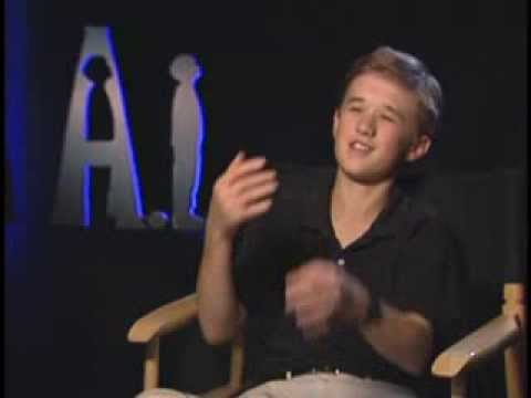 Haley Joel Osment - A.I. Junket