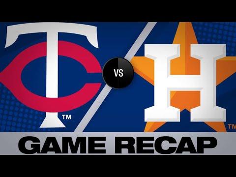 4/24/19: 3 HRs, Verlander's dominance lead Astros