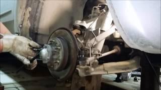 Замена шаровых опор и рулевых наконечников Hover