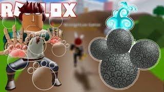 Roblox - Luyện Thành Công Chiêu Thức Dồn Sát Thương Trái Ác Quỷ Paw Paw | Blox Piece
