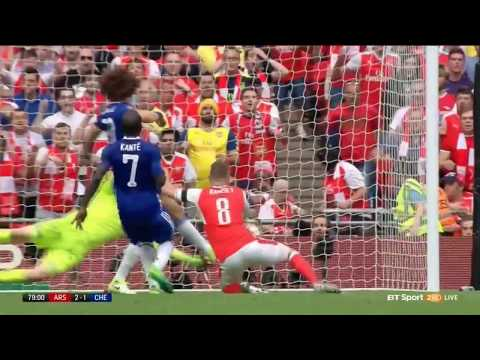 Arsenal vs Chelsea FA cup final aaron ramsey goal with titanic music
