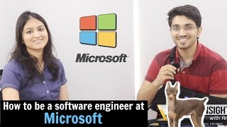 How to be a software engineer at Microsoft | ProInsights #3 with Aman