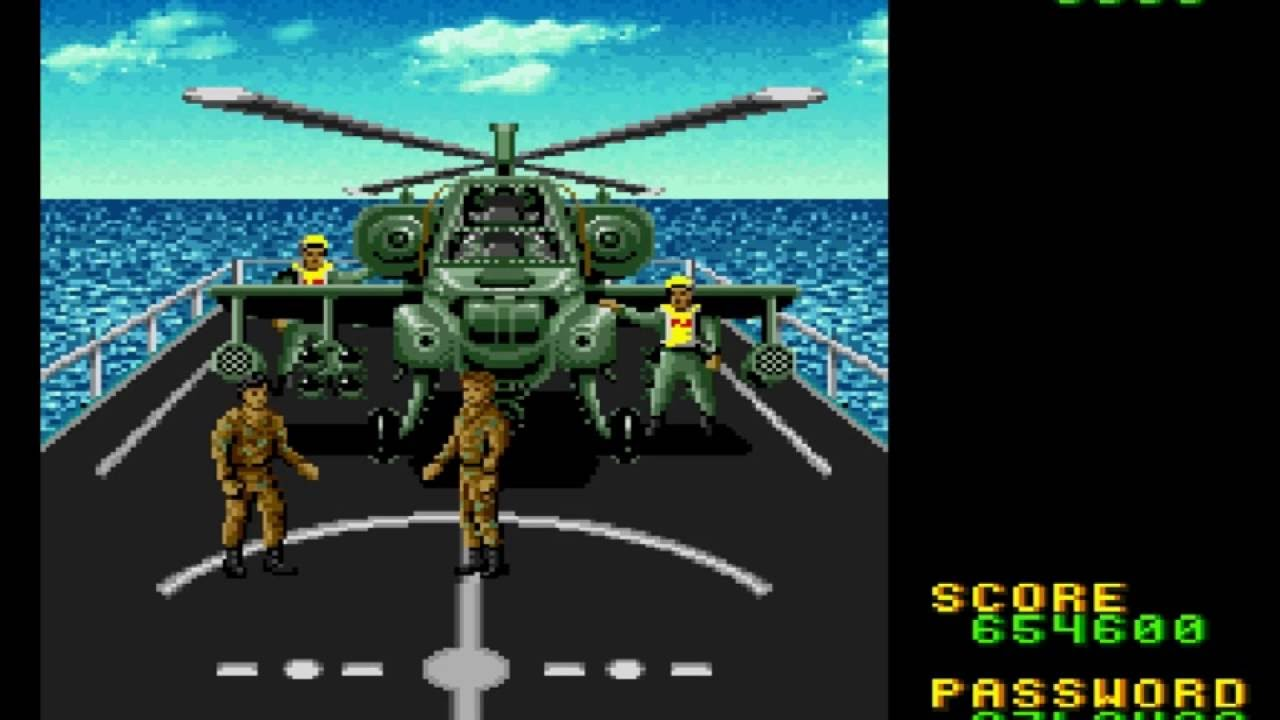 Desert Strike Return To The Gulf Snes Gameplay Of Mission 1 3 3