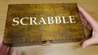 Home Made Scrabble Set