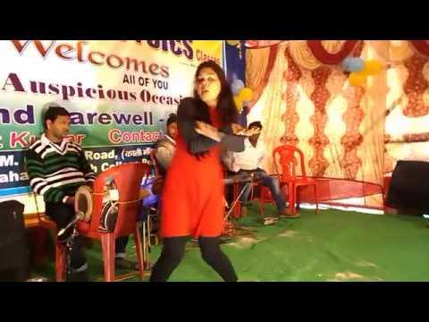 Bhangre di Queen Nachange Saari Raat || Bhagalpur Farewell  Party || 2K18