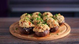 Фаршированные шампиньоны | Быстрая и вкусная закуска | Stuffed Mushrooms