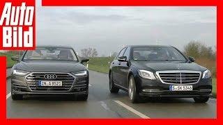 Audi A8 gegen Mercedes S-Klasse (2018) Vergleich/Test/Review/Details