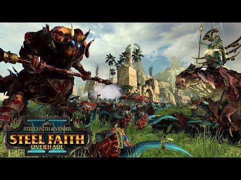 A CLASH OF TITANS! - Kholek vs. Kroq-Gar SFO - Total War Warhammer 2 Gameplay