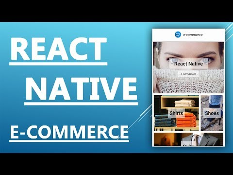 React Native Tutorial - Create And Design An E-commerce App