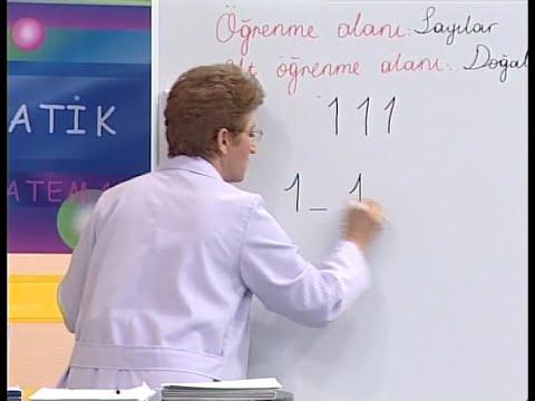 Sayılar, Doğal Sayılar, Rakamlar - İlköğretim 1. Sınıf Matematik