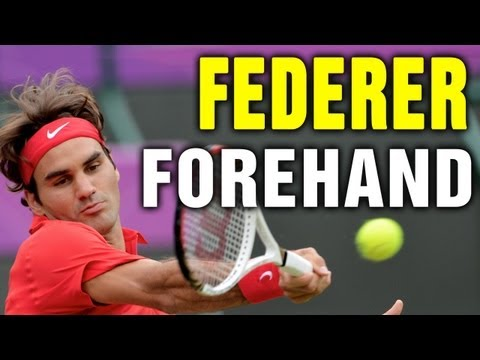 Roger Federer Forehand Technique with Coach Tom Avery