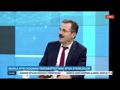 MSKÜ Rektörü Prof. Dr. Hüseyin Çiçek - TVNET - 10.12.2019