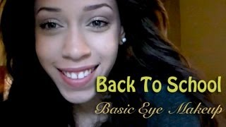 Back to School Makeup Series: Basic Everyday Neutral Makeup Look / Quick Full Face! Thumbnail