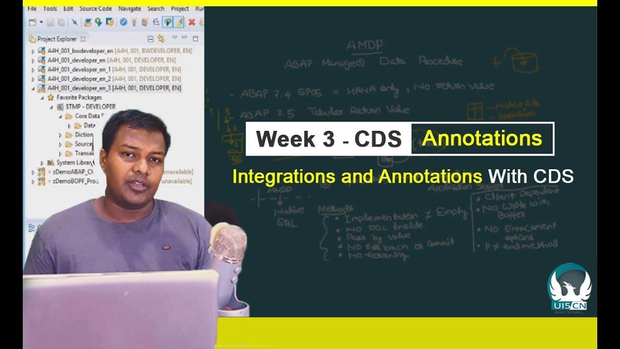 SAP® CDS Professional Development - Integration and Annotations