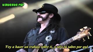 Motörhead- Bye Bye Bitch Bye Bye- (Subtitulado en Español)
