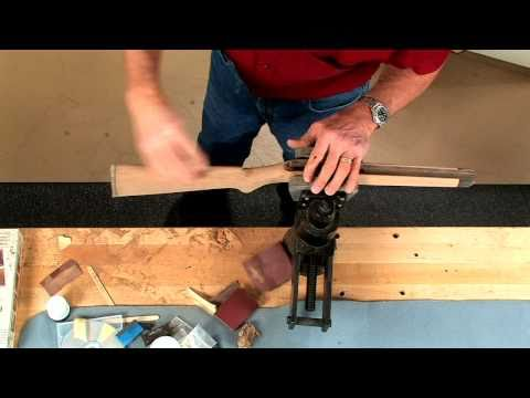 Gunsmithing - How to Prepare a Riflestock for Finishing Presented by Larry Potterfield of MidwayUSA