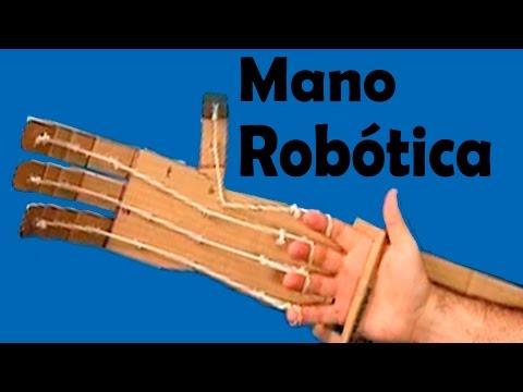 Como Hacer Una Brazo Robótico Casero O Mano Robótica Muy Fácil Paso A Paso│How To Make Arm Robotic