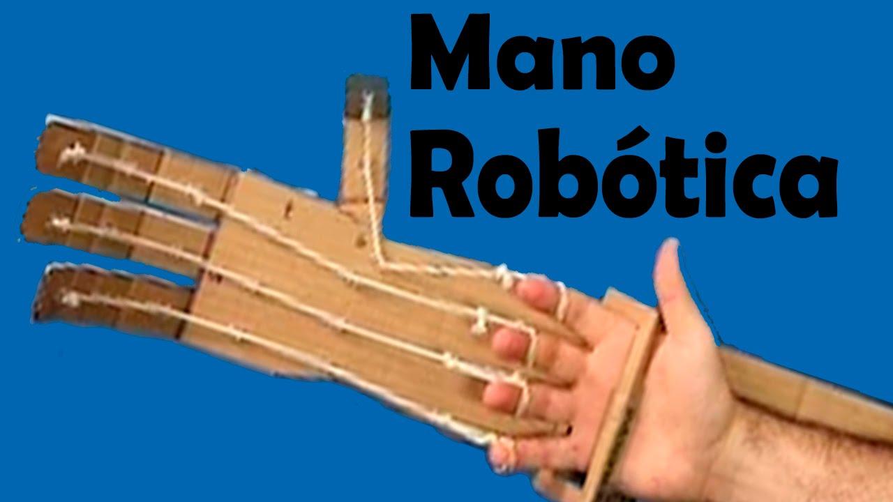 Como hacer una brazo rob tico casero o mano rob tica muy - Con las manos en tu casa ...