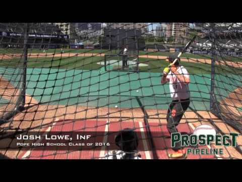 Joshua Lowe Prospect Video, Inf, Pope High School Class of 2016