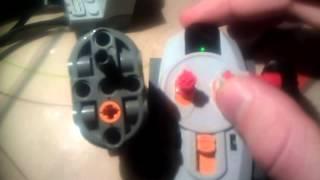 Lego technic broken servomotor 88004