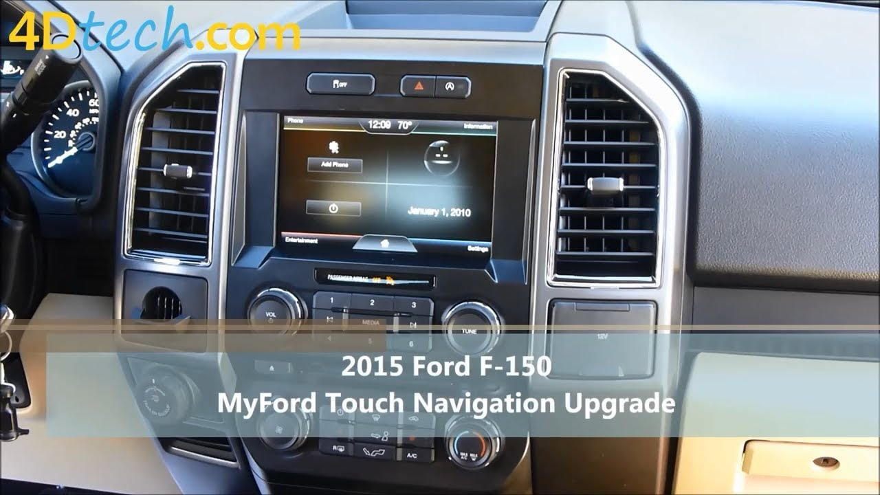 how to add navigation to myford touch