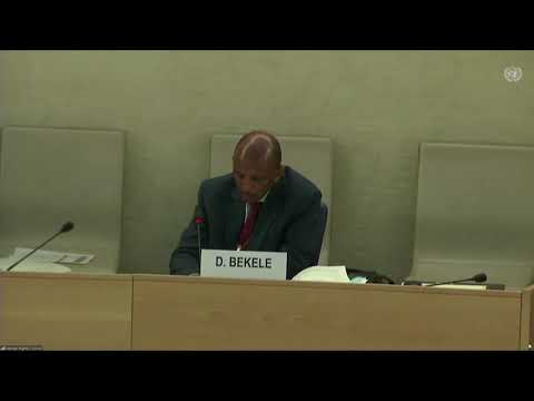 LIVE: U.N. human rights commissioner speaks on the situation in the Tigray region