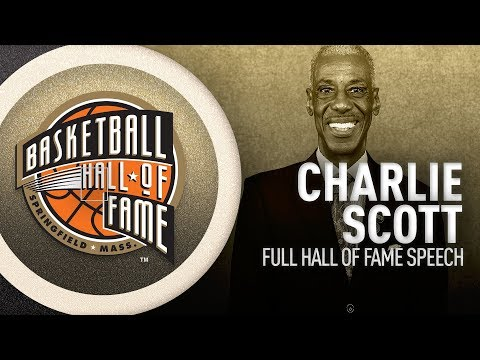 Charlie Scott | Hall of Fame Enshrinement Speech