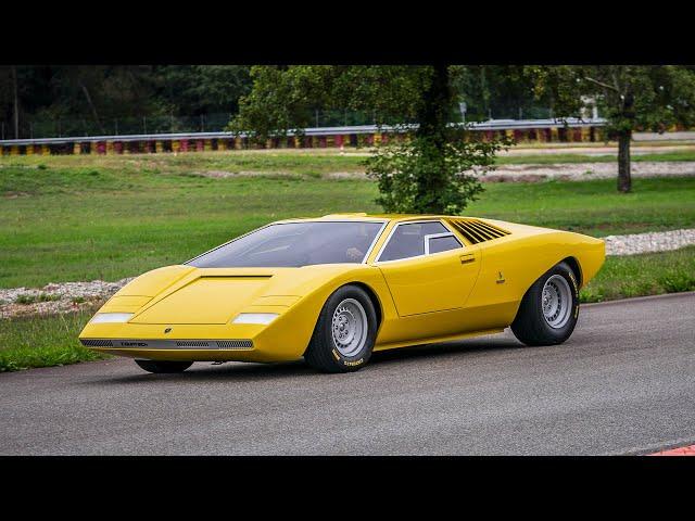 Lamborghini Countach LP 500: The Shakedown