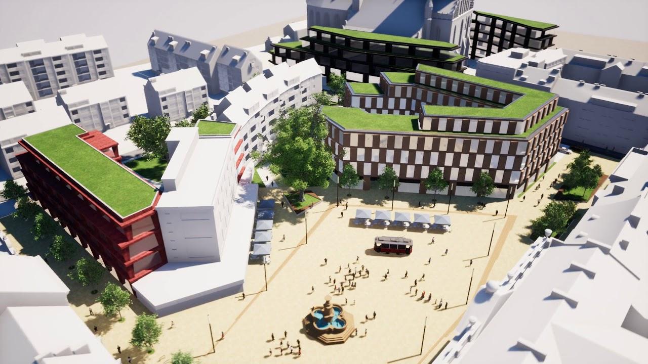 Plac Orła Białego w Szczecinie: s.lab architektura tomasz sachanowicz & katarzyna wirkus