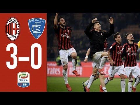 Highlights AC Milan 3-0 Empoli - Matchday 25 Serie A TIM 2018/19