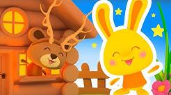 Dans sa maison un grand cerf - Comptines et chansons pour les enfants titounis
