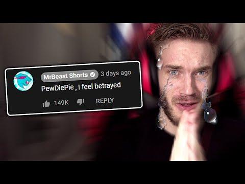 Mr Beast... I am SO SORRY! - PewDiePie